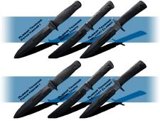 Cold Steel Rubber Training practice Knife Knives 6 Set