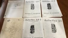 Rolleicord And Rolleiflex Schematics And Exploded Views