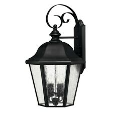 Hinkley Lighting Edgewater 4 Light Outdoor Large Wall Mount, Black - 1675BK