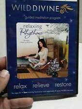 Wild Divine Relaxing Rhythms Relax Relieve Restore Software CD Free Shipping