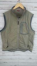 Woolrich Mens Zip Up Jacket Vest  Large 100% Polyester