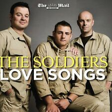 THE SOLDIERS: LOVE SONGS - PROMO CD ALBUM (2009) HERO, FIELDS OF GOLD ETC