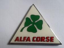 Alfa Romeo Corse Autodelta GTA badge Abzeichen Zeichen logo Metall