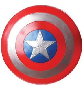 "Captain America Retro Schild 24"" Superheld Hero Avengers Marvel Kunststoff"