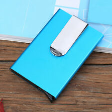Aluminum Waterproof Business ID Credit Card Wallet Holder Metal Pocket Case NEW