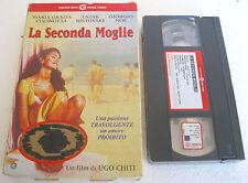 LA SECONDA MOGLIE (1998) VHS ORIGINALE 1ª EDIZIONE CECCHI GORI INEDITA IN HV