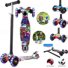 New listing Hikole Scooter for Kids,3 Wheel Kick Scooter for Toddlers Girls&Boys,Adjustable