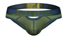Aussiebum Underwear Riot Jock Army Large (L) Mens Briefs Gym Poss Gay Interest