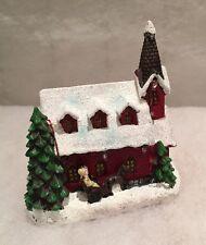 LED Festive Christmas Village House Church Ornament Lit Decoration Lights