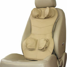 Epulse Air Pressure Car Seat Massager, Beige All Back Improve Blood Circulation