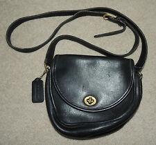 Vintage Coach Watson 9981 Purse Tote Bag Crossbody, Leather, Black, Nice!!