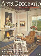 art et decoration - la revue de la maison - numero 174