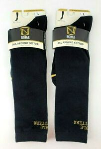 Noble Outfitters All Around Cotton Boot Socks 2.0 Black Mens 9-12 Womens 10.5-13
