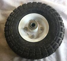 Haul Master 10� Pneumatic Wheel Knobby Tread 4.10x3.40