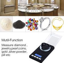 Digital High Precision Pocket Scale  Jewelry Lab Carat Powder Gram Scale