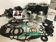 Banshee 350 Stock Bore 64mm Cylinders Wiseco Motor Engine Complete Rebuild Kit