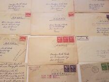 1950s Family Correspondence Letters Gormania West Virginia Carolyn Bobo Minnie