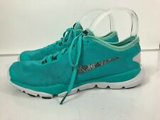 Nike Women's Green Training Flex Supreme TR4 Flywire Sneakers Size 9