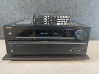 Onkyo TX-NR525 5.1 HDMI AV Surround receiver W/REMOTE, bundle