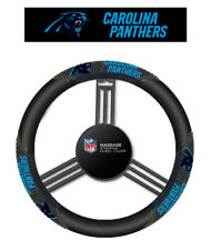 Carolina Panthers Steering Wheel Cover Massage Grip