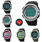 Pedometer Heart Rate Monitor Calories Counter Digital Running Sports Wrist Watch