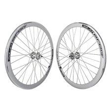 700C Alloy Fixed Gear/Freewheel Double Wall Wheel Pair SL/MSW - PAIR