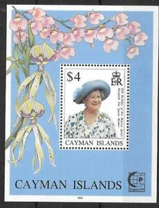 CAYMAN ISLANDS SGMS810 1995 QUEEN MOTHER'S 95th BIRTHDAY MNH