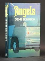 Denis Johnson First Edition 1984 Angels First Novel Hardcover w/Dustjacket