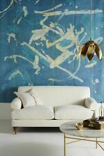 """NEW ANTHROPOLOGIE AUDREY ABSTRACT MURAL WALLPAPER 108"""" x 108"""""""