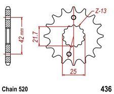 KR Ritzel 14Z Teilung 520 APRILIA RS 250 95-04 Neu ... Front sprocket
