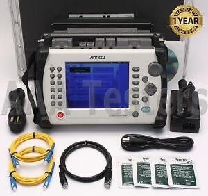 Anritsu MT9083A Zugriff Master Sm Faser Otdr W / Optionen 001, 002 & 004
