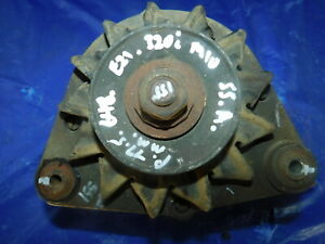BMW E21 320i M10 Engine 55 AMP Alternator BOSCH 0 120 489 646 G