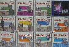 12 x Kinder-Uni - Kinder Wissen Lehr/Lern Hörbuch Hörbücher CD Sammlung