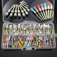 200 Pcs Dental Nylon Latch Flat Polishing Polisher Prophy White Amp Colorful Brush