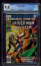 Marvel Team-Up #69 (1978) CGC Graded 9.8 ~ Havok ~ Spider-Man ~ John Byrne