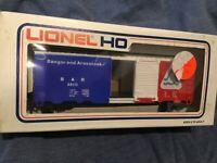 Lionel Box Car BAR Bangor & Aroostook #5-8510 HO Scale Train Car Model nos