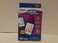 Mead Addition Flashcards for Grades K - 3 | Teacher Approved | New In Box