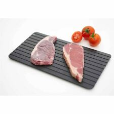 More details for aluminium quick frozen food defrost tray rapid meat & poultry defrosting tray