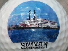 (1) Steamboatin American Queen Logo Golf Ball