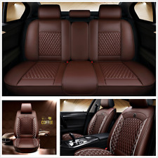Standard Edition Car Seat Covers Cushion Coffee Leather For Interior Accessories