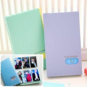 KPop 120 Pocket Photocard Book Lomo Card Photo Album (U.S. Seller)