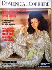 La Domenica del Corriere 16 Maggio 1972 Bolkan Caselli Marziani Bella Anastasi