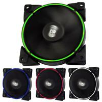 PCCOOLER 12cm 3/4Pin 12V PC Computer Case Cooling Fan PWM Quiet Chassis Cooler