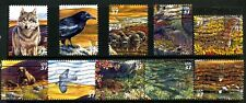 Arctic Tundra Scott #3802 a-j Complete Set of 10 Used United States Stamps
