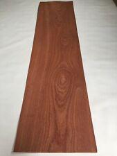 Mahogany Veneer - NATURAL WOOD Sheet - 1540mm x 370mm (60.6 x 14.5 inches)