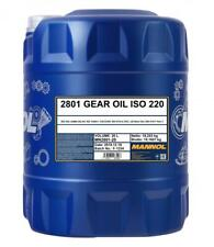 Mannol ISO 220 Gear Oil 20L AGMA 252.04 US STEEL 224 DIN 51517 Part 3