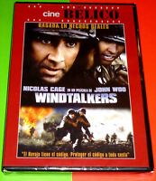 WINDTALKERS English Español Deutsch DVD R2 Precintada