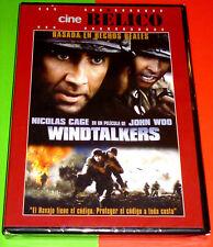 WINDTALKERS English Español Deutsch DVD R2 Precintada