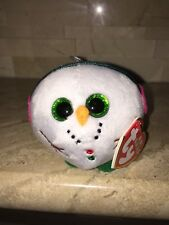 TY BABY BEANIES CHILLY THE SNOWMAN ORNAMENT FIGURE