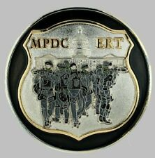 Metropolitan Police, Washington, D.C. Emergency Response Team Challenge Coin